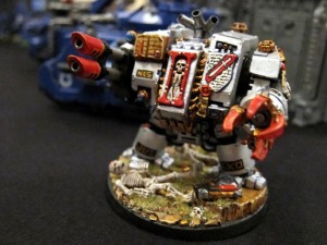 Lorenzo's GK Dreadnought.  Check out the details on the base.