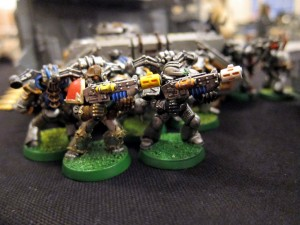 Some of Colin's Iron Warriors.