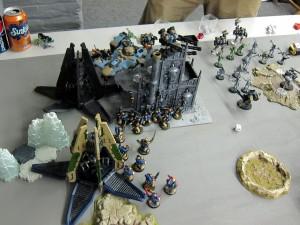 The big push into the Tau base.