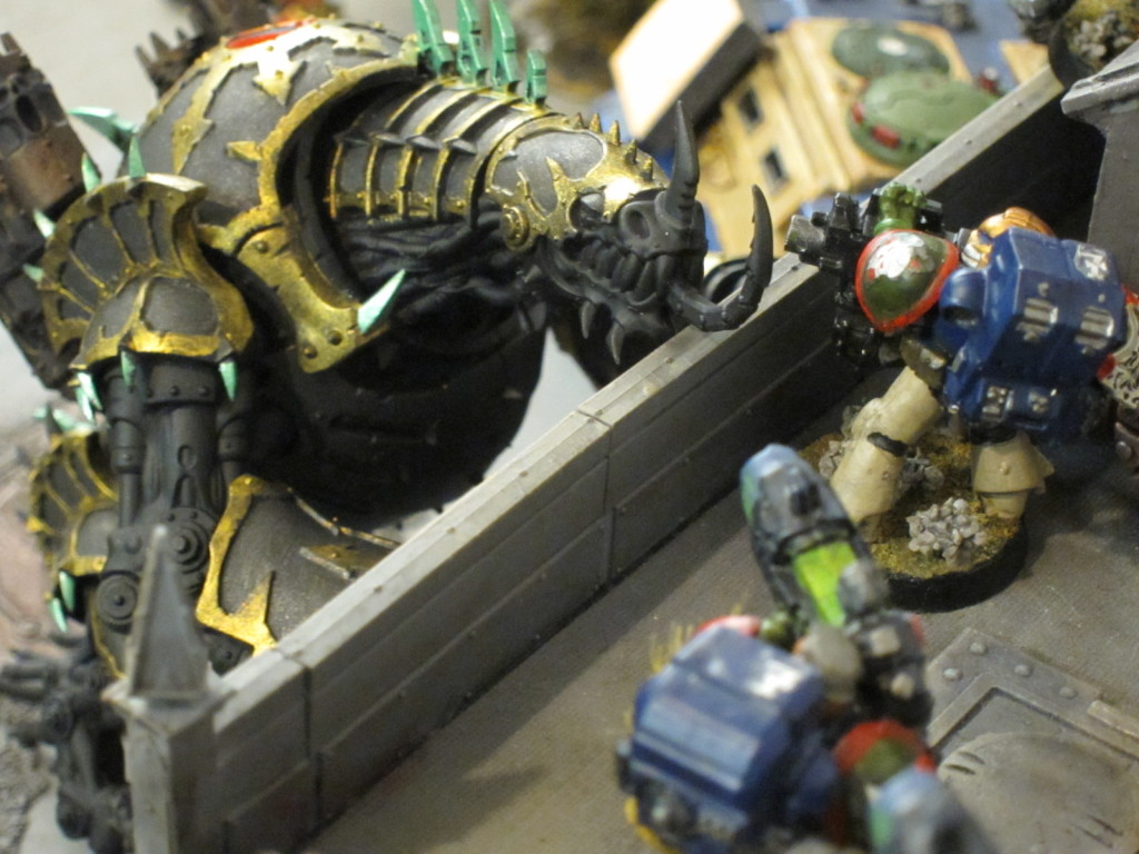 Kingbreakers defend the ramparts.