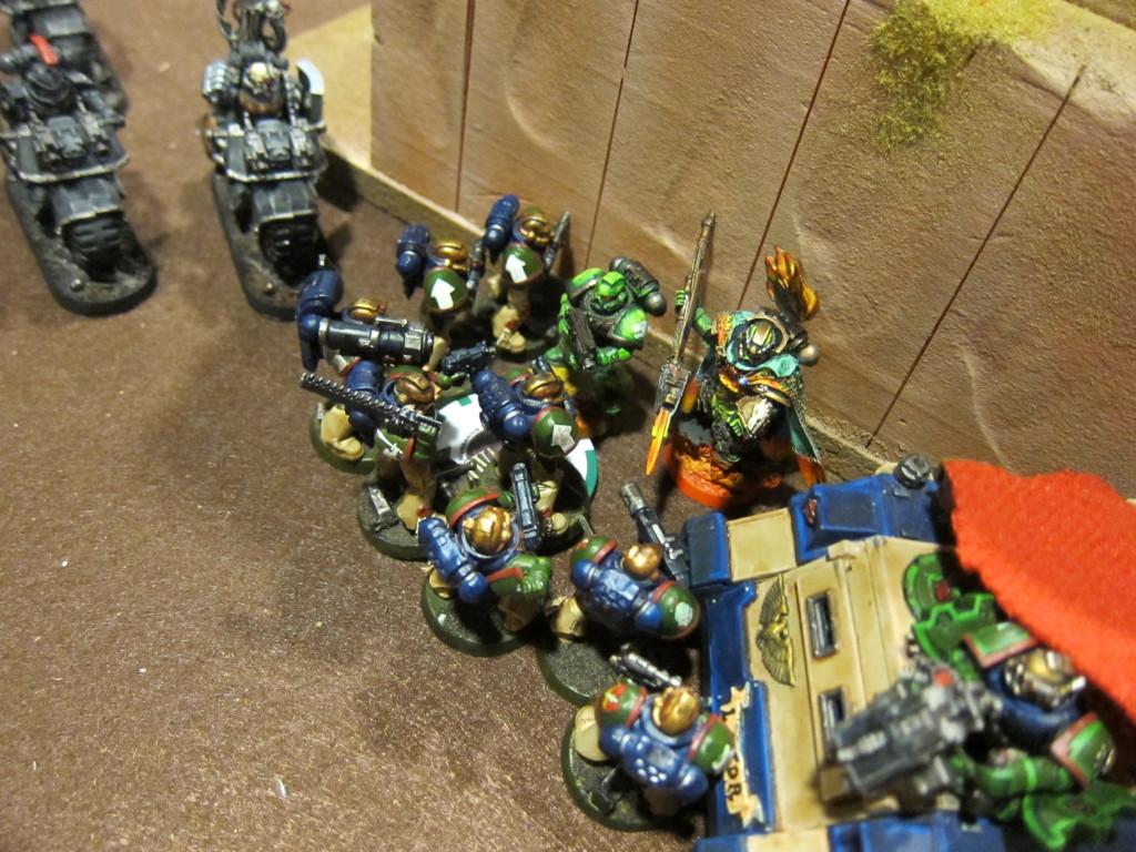 Squad Titus corners some jerk named Vulkan.
