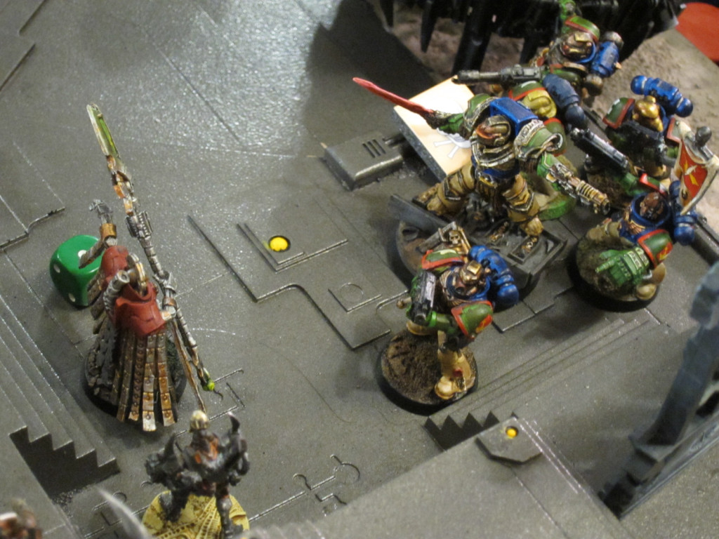 Captain Angholan and Squad Scolirus attack Nemesor Zahndrekh in his Citadel.
