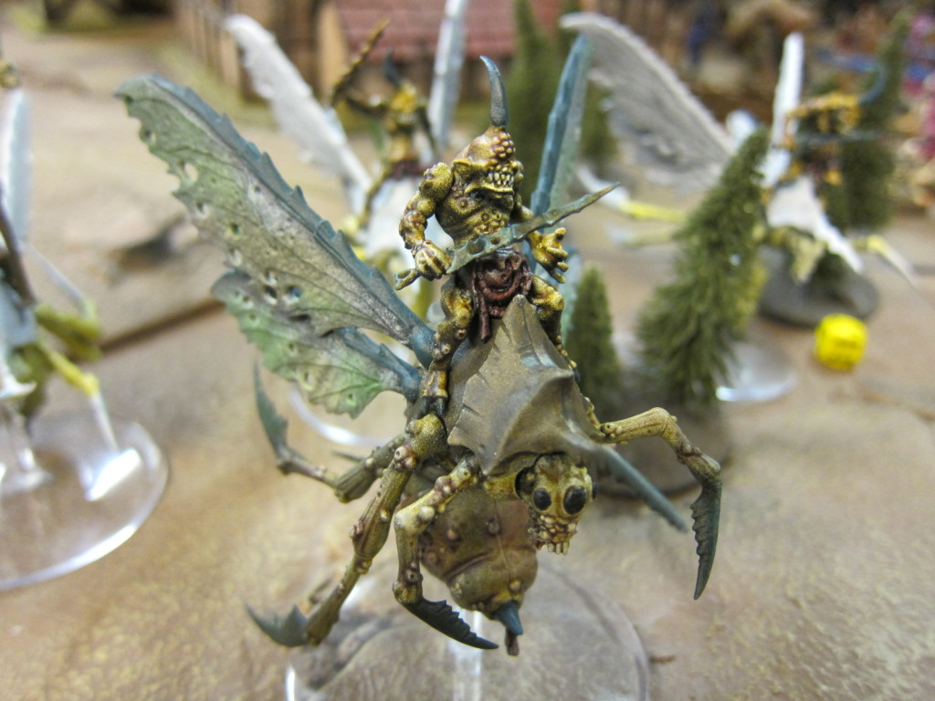 Chaos arrives, on the wings of plague!