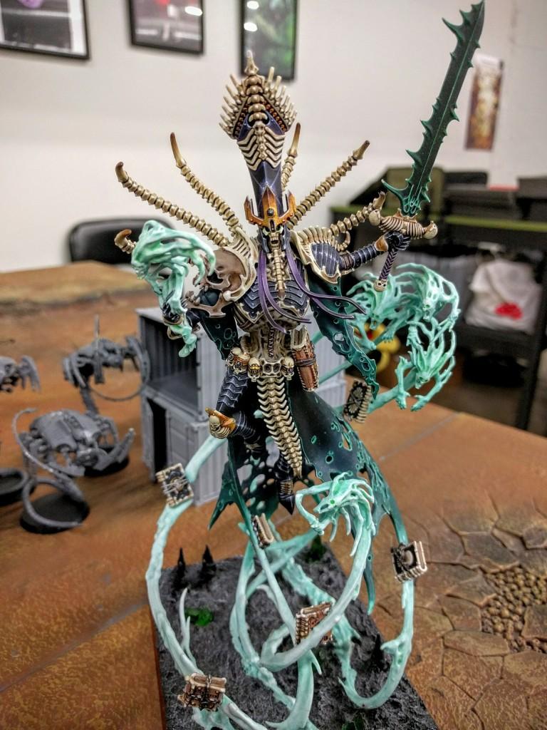 Nagash brings oblivion! Phil's Transcendant C'Tan.