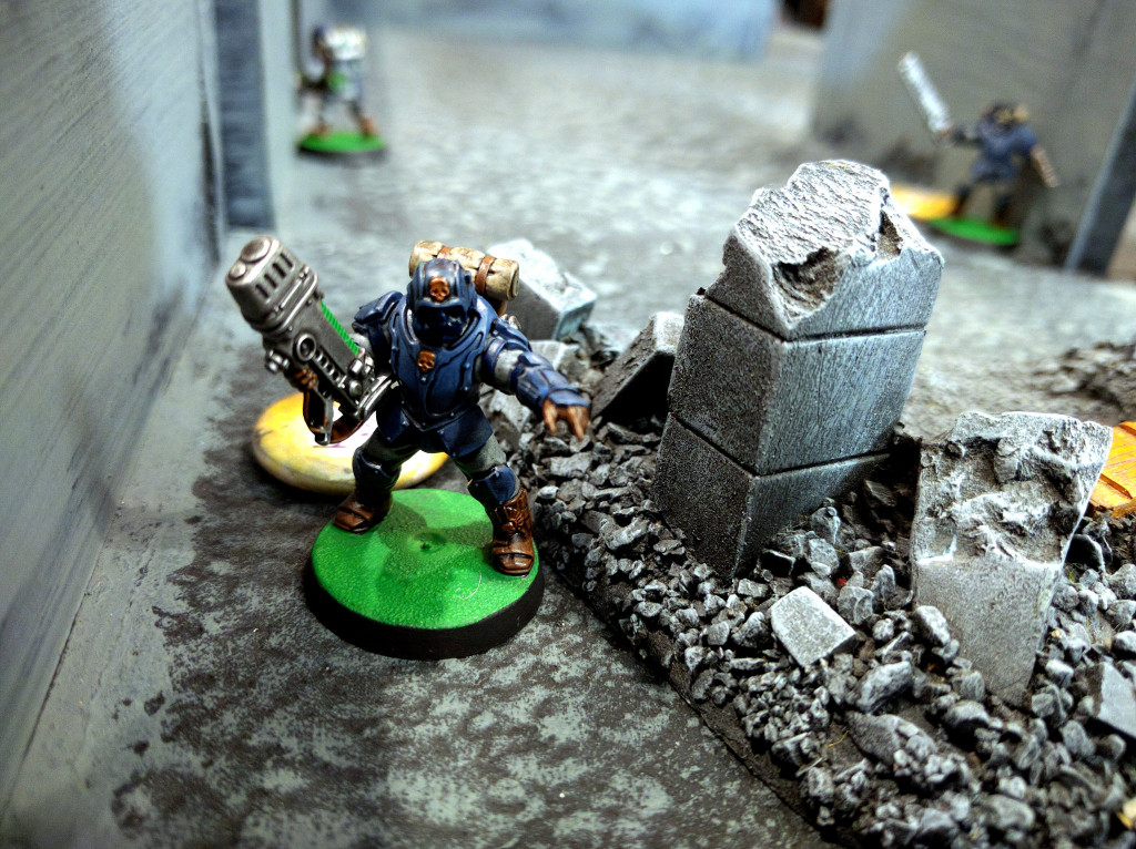 As Renegades hunt for the Deathwatch team loose in their complex.