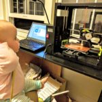Baby's first 3D printer.